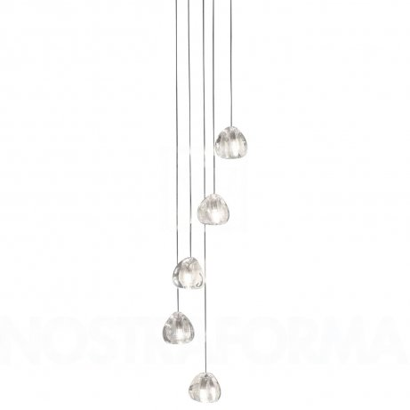 Terzani Mizu 5-Light Suspension