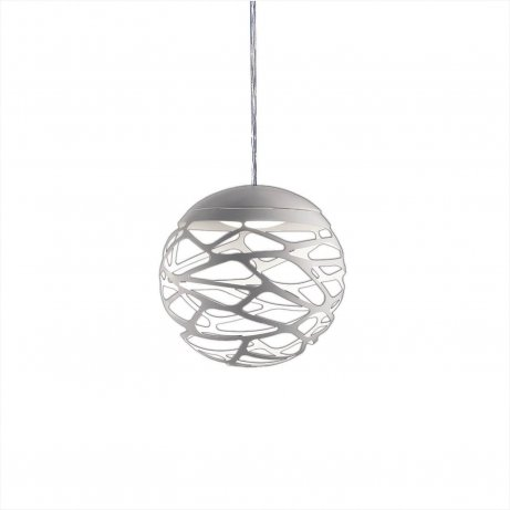 Kelly Cluster 1 Sphere Pendant light White