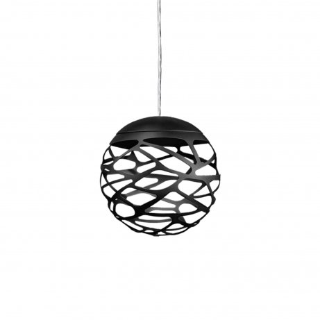 Kelly Cluster 1 Sphere Pendant light Black
