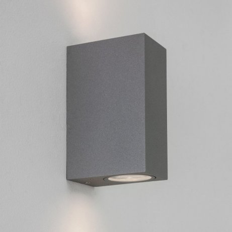 Astro Chios 150 Textured Grey Wall Light