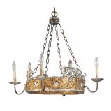Buy Flambeau Crown 4 Lt Chandelier